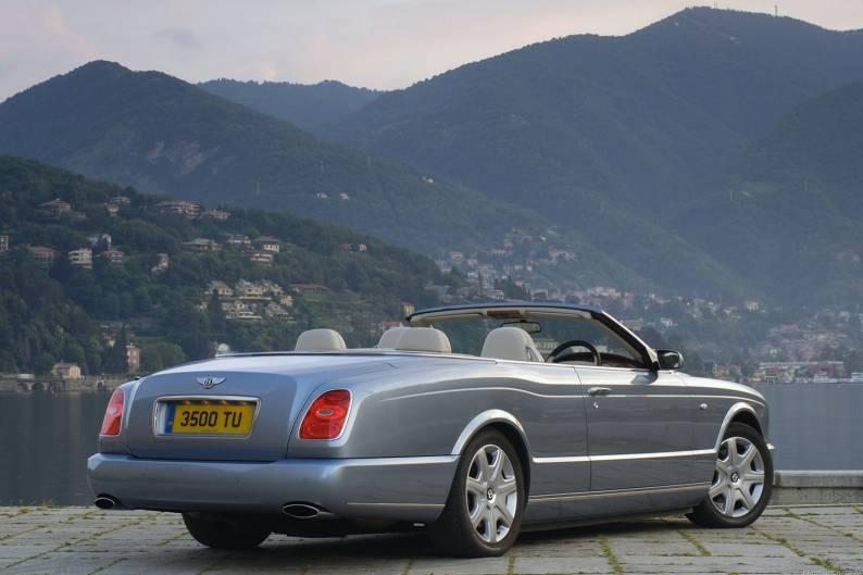 Aj95 Bentley Blue Drive Car: Bentley Azure (2006 - 2009) Used Car Review Review