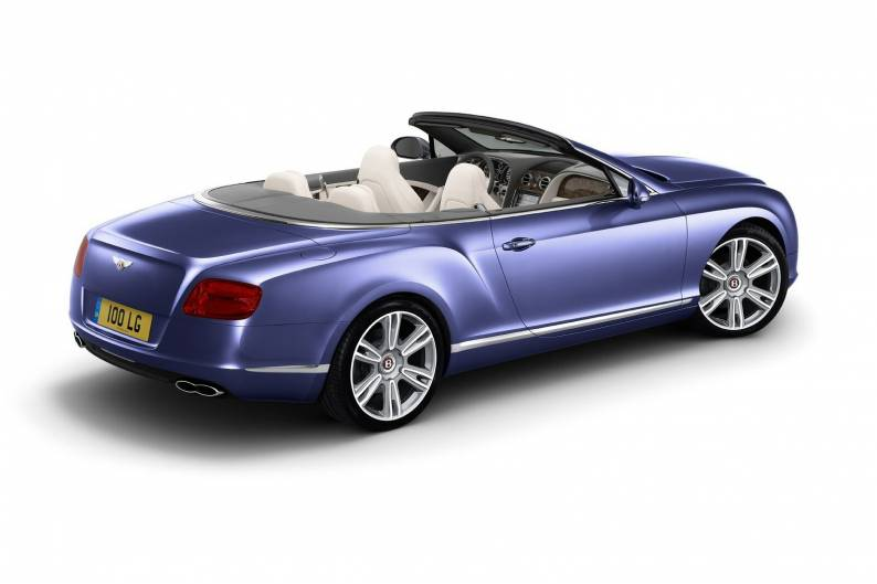 Bentley Continental GTC V8 review