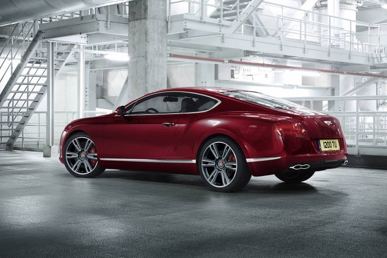 Bentley Continental GT V8 review