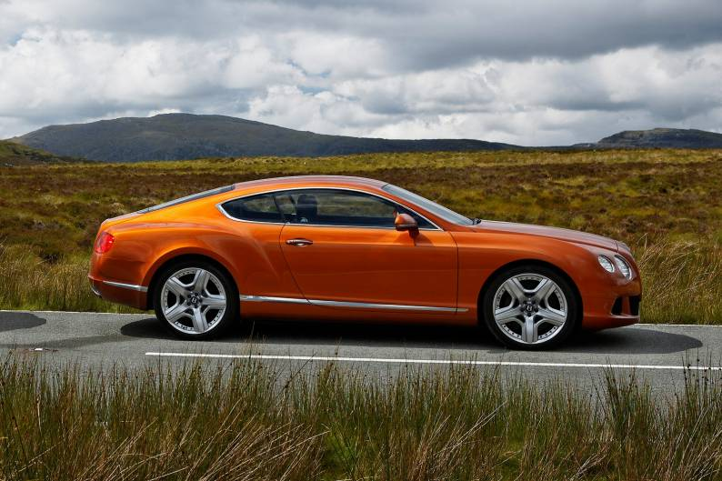 Bentley Continental GT W12 review