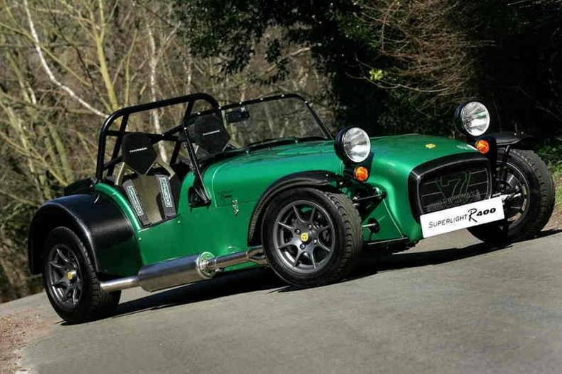Caterham Superlight R400 review