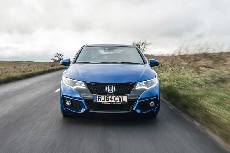 Honda civic 1 6 i dtec review review car review rac drive for How much to lease a honda civic