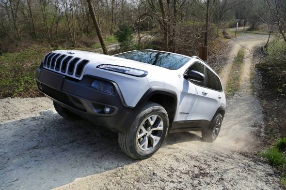 Jeep Cherokee Trailhawk review