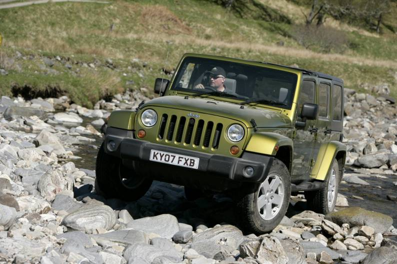 Jeep Wrangler Unlimited review