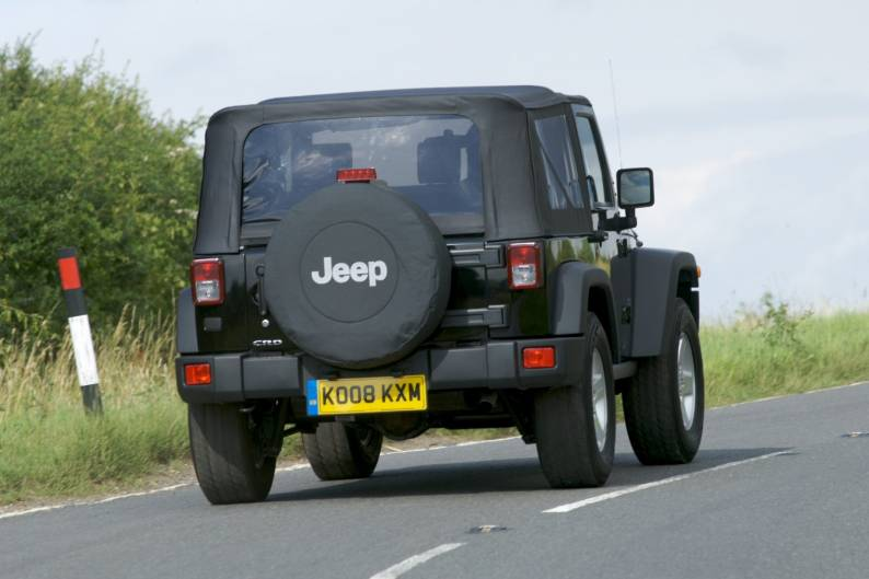 Jeep Wrangler 2dr review