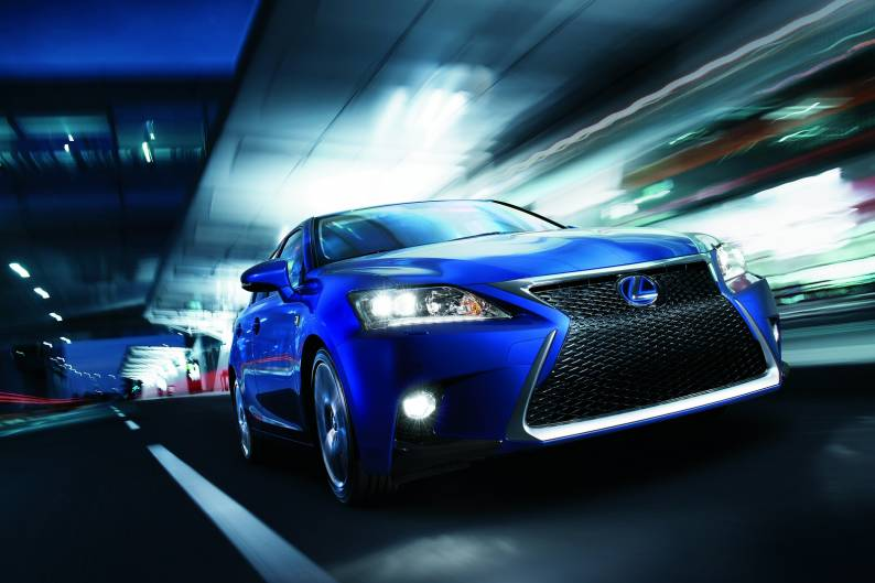 Lexus CT200h F-Sport review