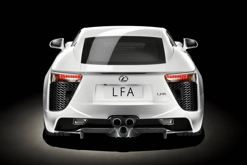 Lexus LF-A review