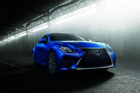 Lexus RC F coupe review