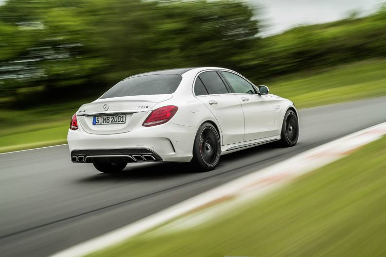Mercedes-AMG C63 review