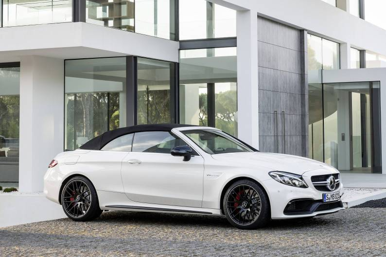 Mercedes-AMG C63 Cabriolet review