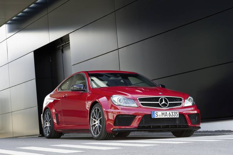 Mercedes benz c class c63 amg 2007 2014 used car review review car review rac drive - Mercedes c class coupe 2014 review ...