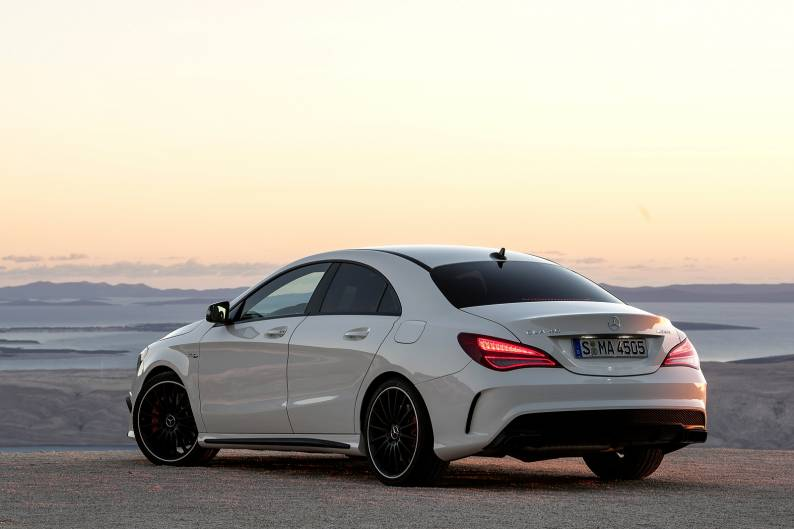 Mercedes benz cla 45 4matic review review car review for Mercedes benz cla review