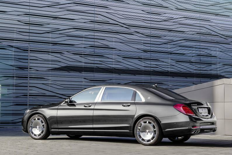 Mercedes-Maybach S-Class - Preview review