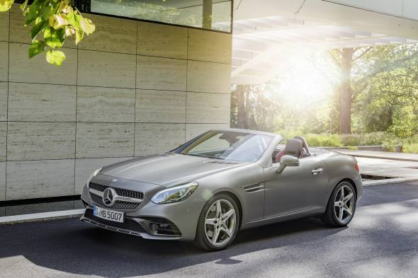 Mercedes-Benz SL500 review