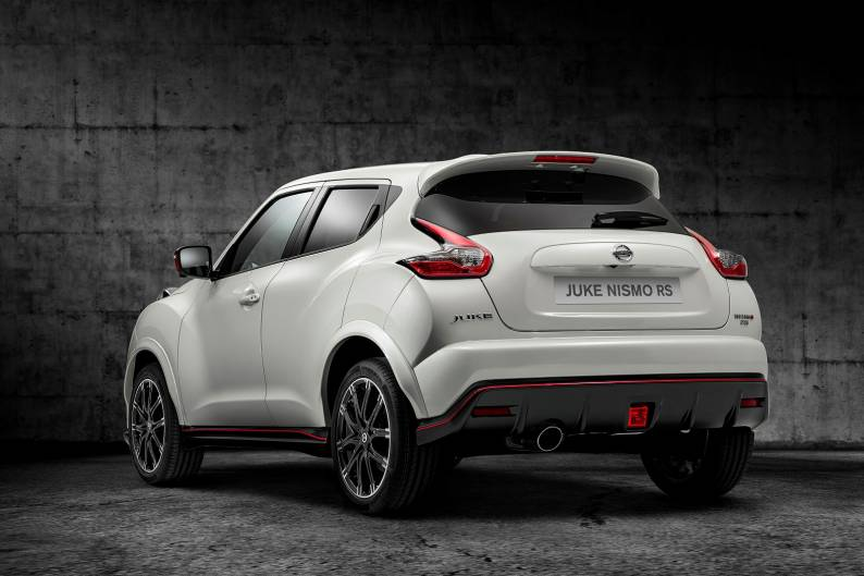 Nissan Juke Nismo RS review