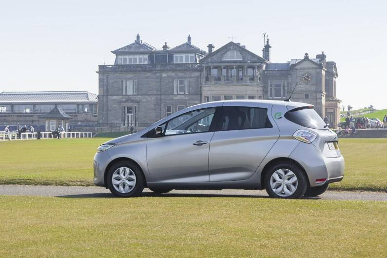 renault zoe review review car review rac drive. Black Bedroom Furniture Sets. Home Design Ideas