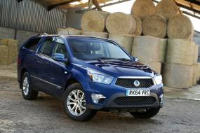 SsangYong Korando Sports pick-up review