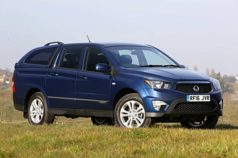 ssangyong musso pick up review review car review rac drive. Black Bedroom Furniture Sets. Home Design Ideas