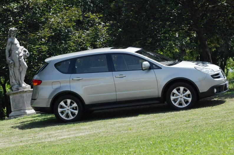subaru b9 tribeca 2006 2009 used car review review. Black Bedroom Furniture Sets. Home Design Ideas