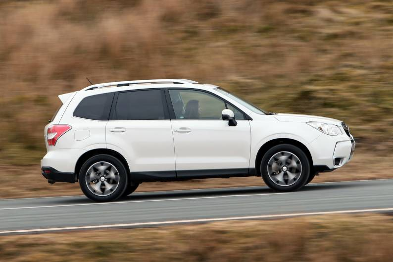 Subaru Forester 2.0i XT review
