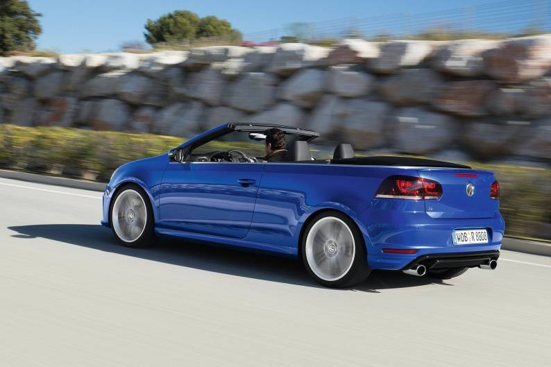 Volkswagen Golf R Cabriolet review