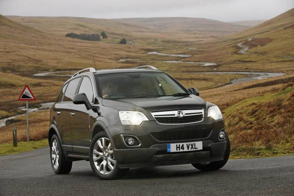 Vauxhall Antara CDTi 163 review