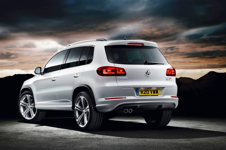 Volkswagen Tiguan R Line Car Review Rac Drive