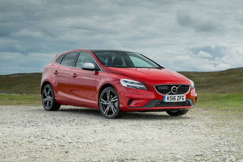 volvo v40 d3 review car review rac drive. Black Bedroom Furniture Sets. Home Design Ideas