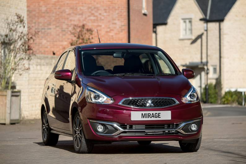 Mitsubishi Mirage Juro review
