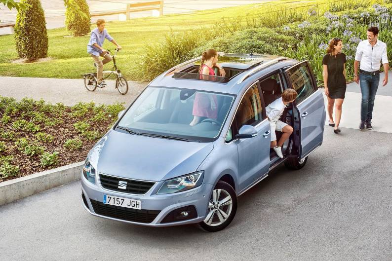 Seat Alhambra Review Review Car Review Rac Drive