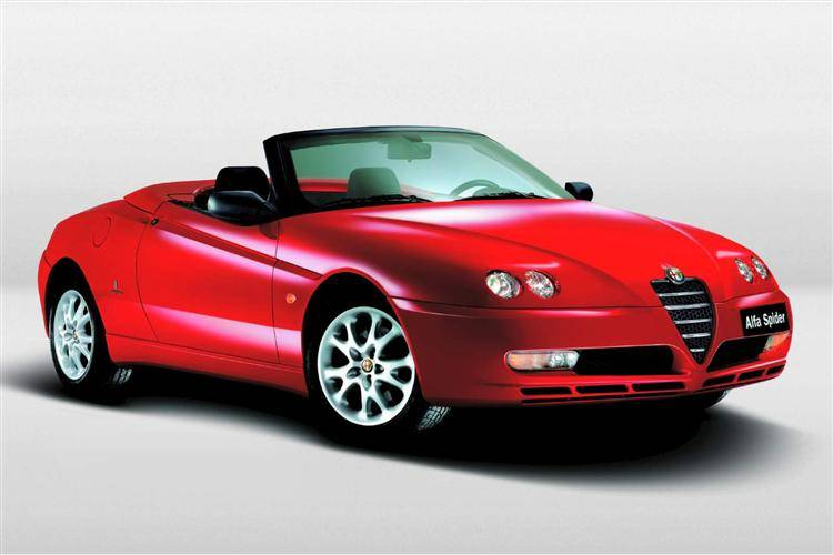 alfa romeo spider 1996 2005 used car review car review rac drive. Black Bedroom Furniture Sets. Home Design Ideas
