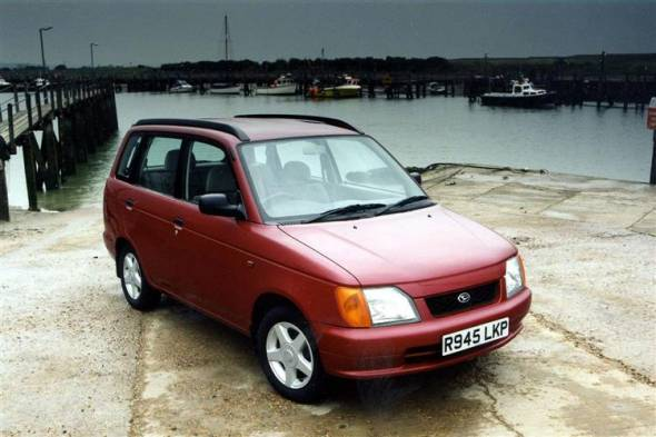 Daihatsu GrandMove (1997 - 2001) review