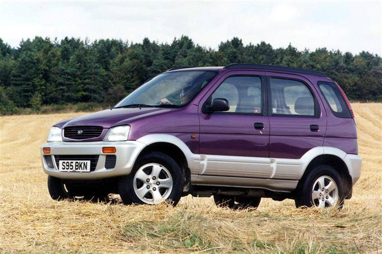 daihatsu terios 1997 2006 used car review review car review rac drive. Black Bedroom Furniture Sets. Home Design Ideas
