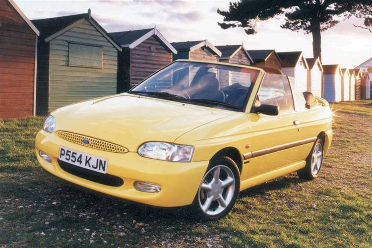 ford escort cabriolet 1990 1998 used car review review. Black Bedroom Furniture Sets. Home Design Ideas