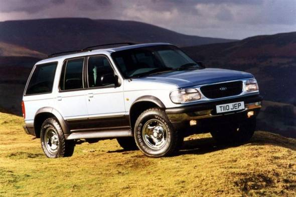 Ford Explorer (1997 - 2001) review