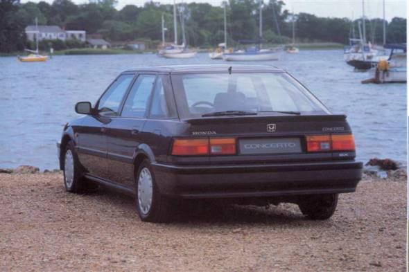 Honda Concerto (1991 - 1995) review