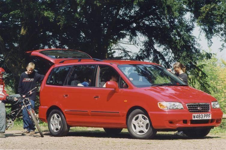 Hyundai Trajet (2000 - 2008) review review | Car review | RAC Drive
