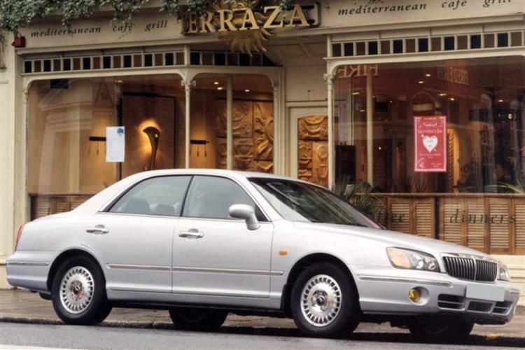 Hyundai xg30 2000 2003 used car review car review for Garage hyundai 92