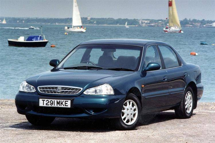 Kia Clarus (1999 - 2001) review