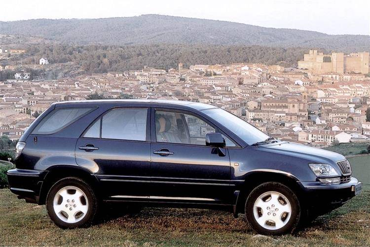 lexus rx 300 2000 2003 used car review review car. Black Bedroom Furniture Sets. Home Design Ideas