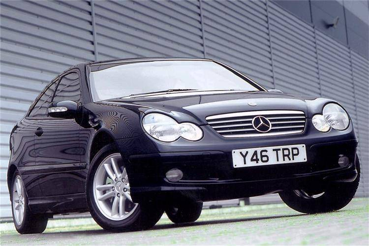 mercedes benz c class sports coupe 2001 2008 used car. Black Bedroom Furniture Sets. Home Design Ideas