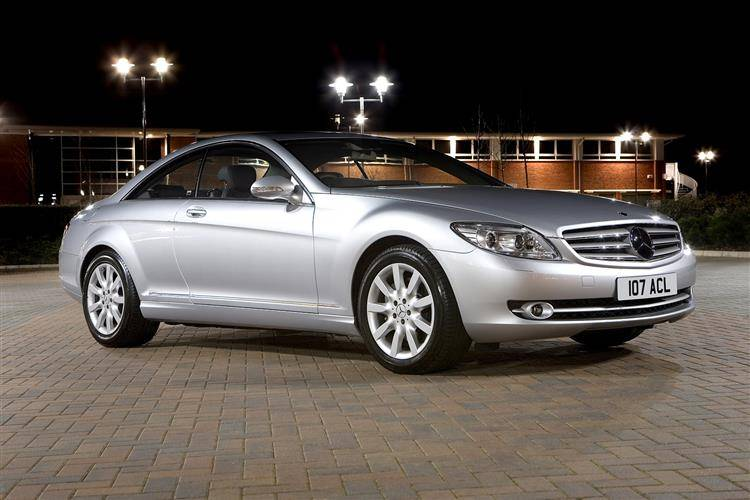 Mercedes benz cl class 2007 2010 used car review review for Mercedes benz residual value
