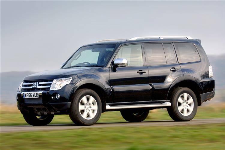 mitsubishi shogun 2007 2009 used car review car. Black Bedroom Furniture Sets. Home Design Ideas