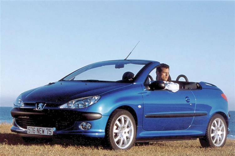 peugeot 206 coupe cabriolet 2000 2007 used car review car review rac drive. Black Bedroom Furniture Sets. Home Design Ideas