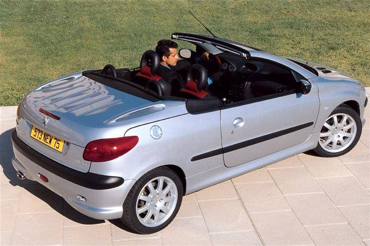 Peugeot 206 Coupe Cabriolet (2000 - 2007) used car review