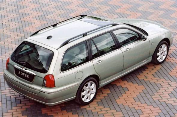 Rover 75 Tourer (2001 - 2005) review