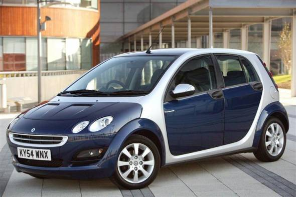 Smart Forfour (2004 - 2007) review