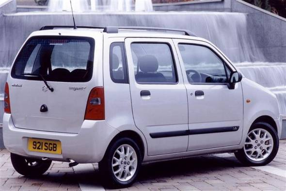 Suzuki Wagon R+ (2000 - 2008) review
