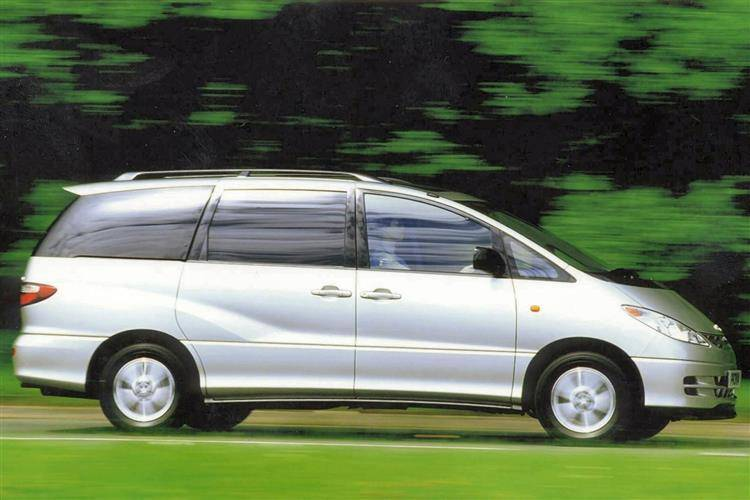 toyota previa 2000 2008 used car review review car review rac drive. Black Bedroom Furniture Sets. Home Design Ideas