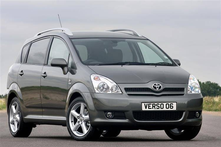 toyota verso 2005 2009 used car review car review rac drive. Black Bedroom Furniture Sets. Home Design Ideas